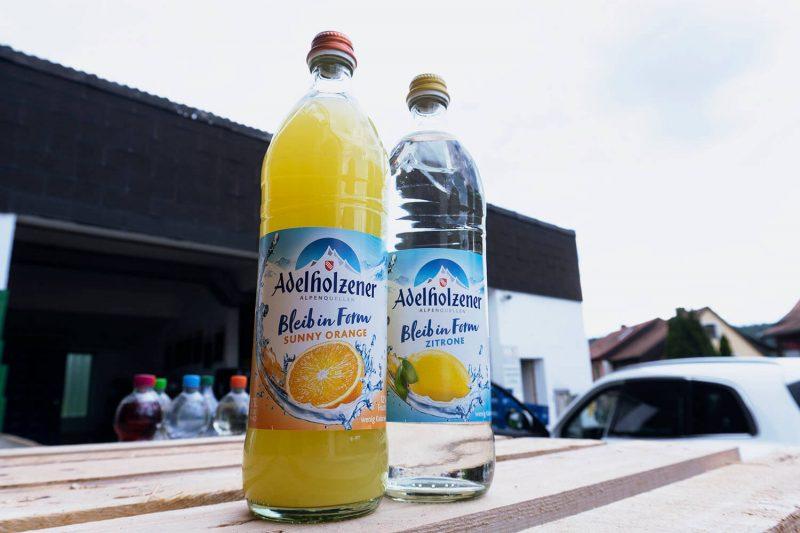Bruederlein Getraenke | Adelholzener Limonade