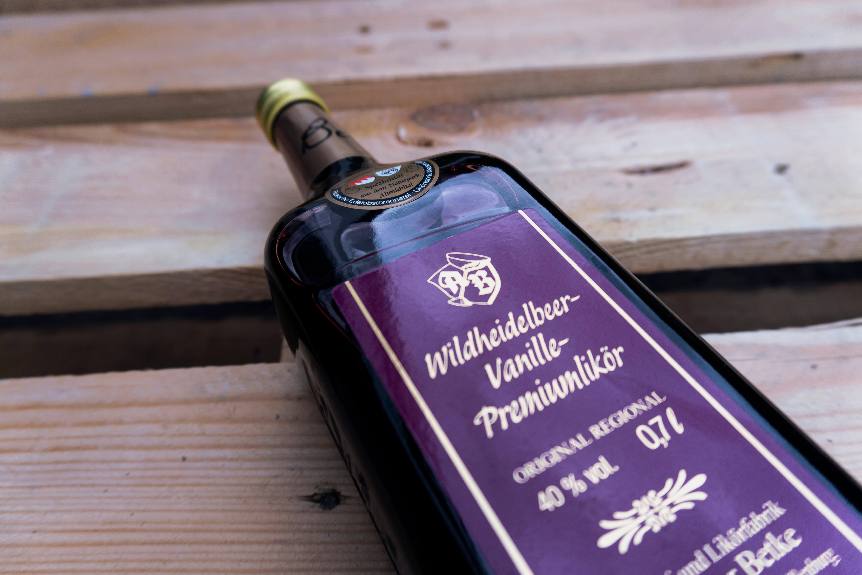 Bruederlein Getraenke | Wildheidelbeer-Vanille-Likoer